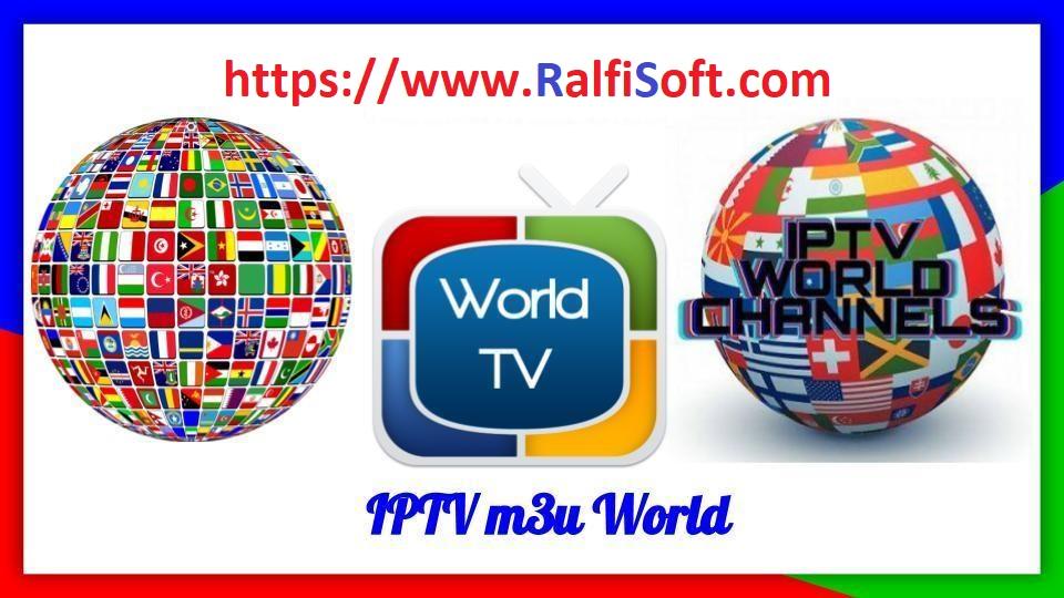 All World VIP M3U IPTV Channels List 2019 (Daily Updated
