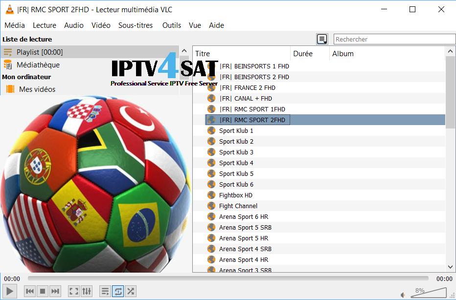 Full IPTV M3u France Gratuit Free Iptv Links TV 01-08-2019